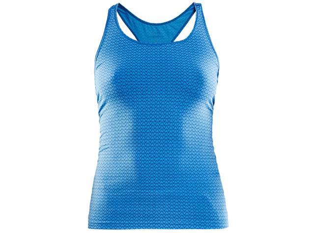 Craft Essential Racerback Singlet Damen Laufshirt - S trio coast