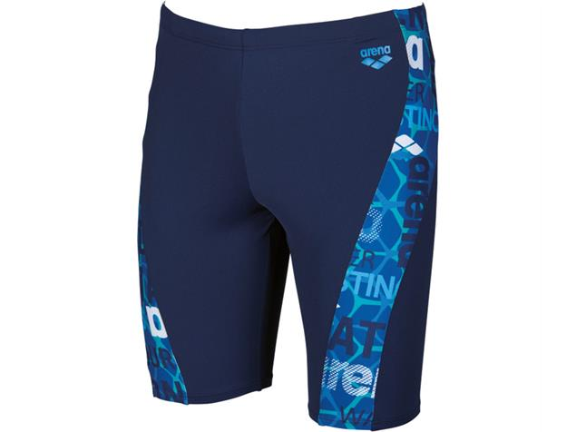 Arena Evolution Jammer Badehose - 3 navy/pix blue