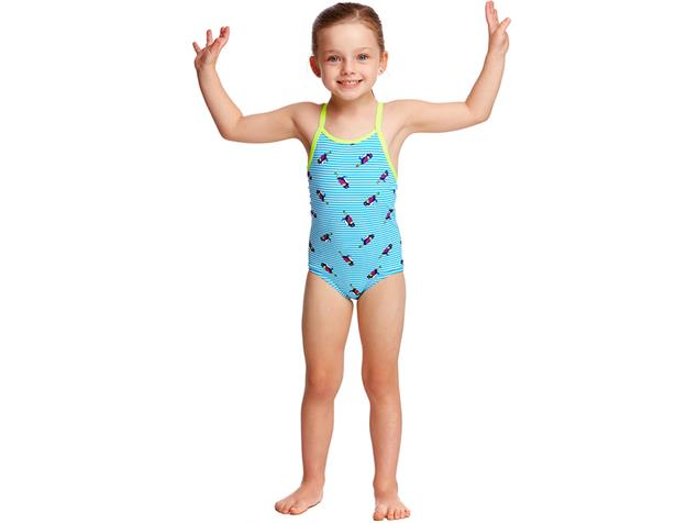 Funkita Tweety Tweet Toddler Girls Badeanzug - 116 (5)
