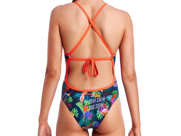 Funkita Tropic Tag Ladies Badeanzug Tie Me Tight - 36 (10)