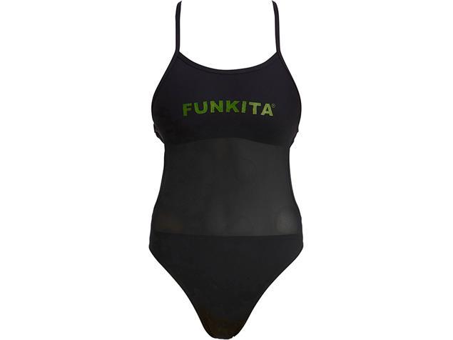 Funkita Night Lights Ladies Badeanzug Mesh Up - 38 (12)