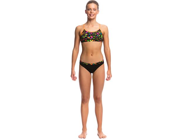Funkita Night Swim Girls Schwimmbikini Racerback - 164 (12)