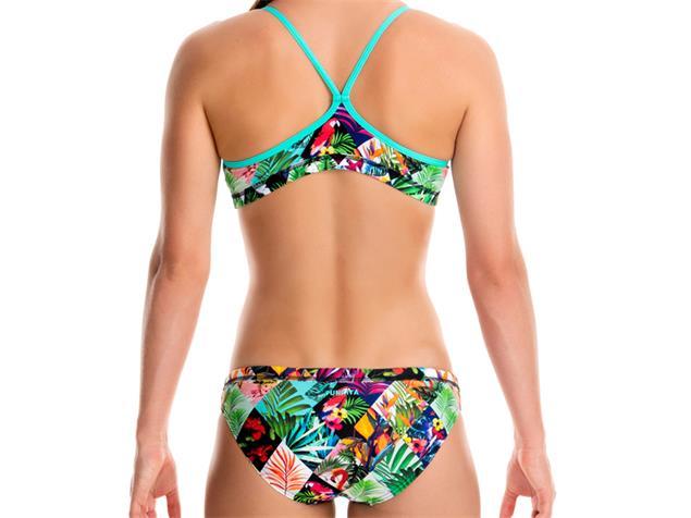 Funkita Jungle Jam Girls Schwimmbikini Racerback - 152 (10)