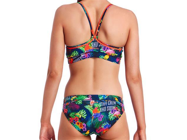 Funkita Tropic Tag Ladies Schwimmbikini Sports Top + Sports Brief - 38 (12)