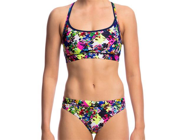 Funkita Princess Cut Ladies Schwimmbikini Sports Top + Sports Brief - 38 (12)