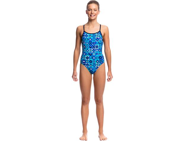 Funkita Strike it Lucky Girls Badeanzug Diamond Back - 140 (8)