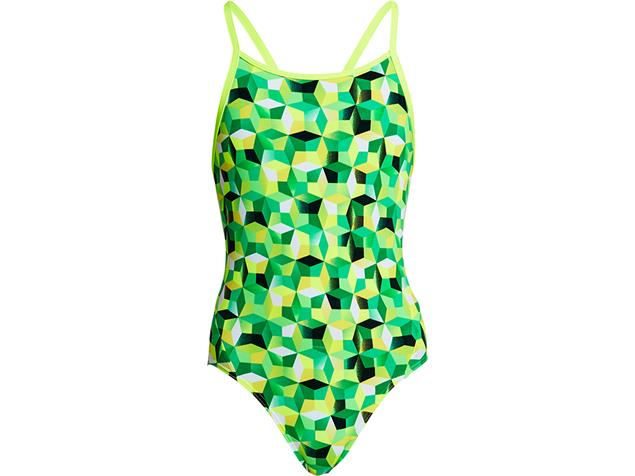 Funkita Blast Fusion Girls Badeanzug Diamond Back - 164 (12)