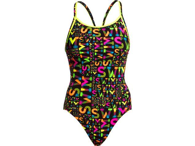 Funkita Night Swim Ladies Badeanzug Diamond Back - 36 (10)