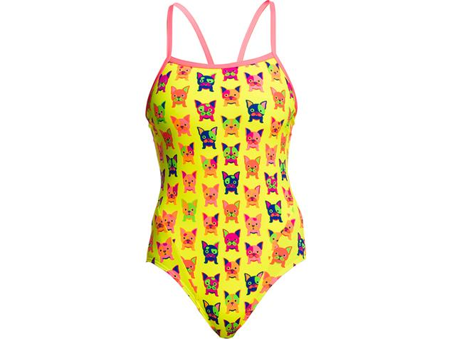 Funkita Hot Diggity Ladies Badeanzug Single Strap - 36 (10)
