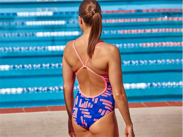Funkita Hot Rod Ladies Badeanzug Single Strap - 40 (14)