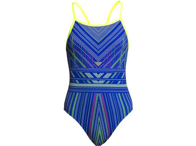 Funkita Quick Stitch Girls Badeanzug Single Strap - 152 (10)