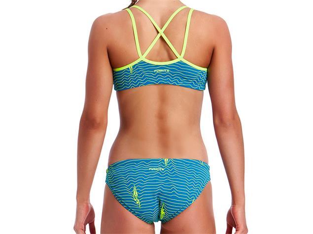 Funkita Ripple Effect Girls Schwimmbikini Criss Cross - 176 (14)
