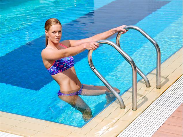 Funkita Swim Swim Ladies Schwimmbikini Criss Cross Top + Bibi Banded Brief - 38 (12)