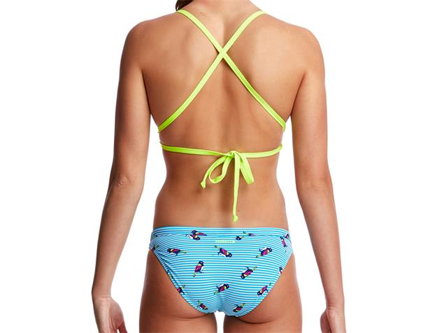 Funkita Tweety Tweet Ladies Schwimmbikini Tri Top + Hipster Brief - 36 (10)