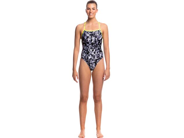 Funkita Midnight Assassin Ladies Badeanzug Strapped In - 34 (8)