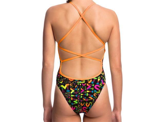 Funkita Night Swim Ladies Badeanzug Strapped In - 38 (12)