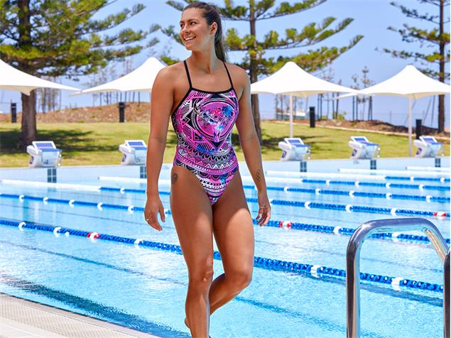 Funkita Skull Swim Ladies Badeanzug Strapped In - 38 (12)