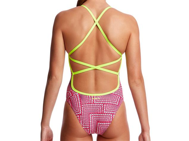 Funkita Swim Spin Ladies Badeanzug Strapped In - 36 (10)