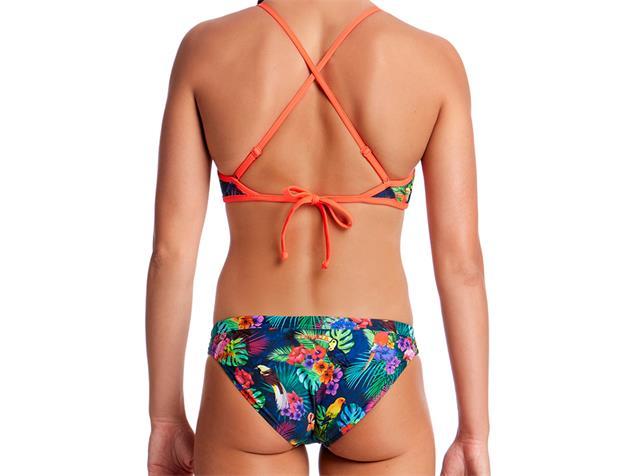 Funkita Tropic Team Ladies Schwimmbikini Tie Down Top + Hipster Brief - 38 (12)