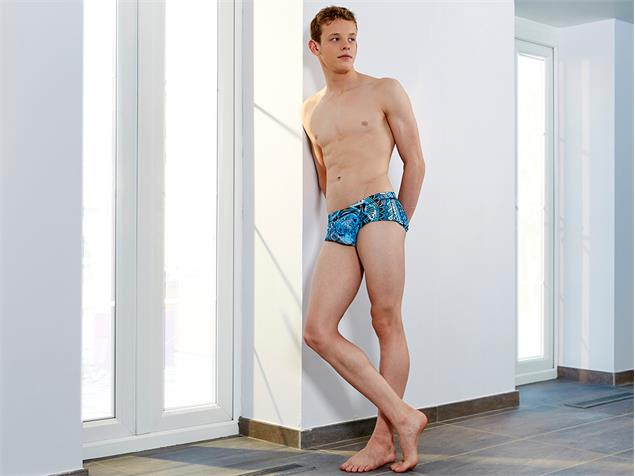Funky Trunks Holy Cow Men Badehose Plain Front Trunks - M