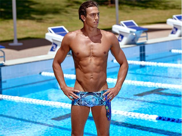 Funky Trunks Holy Cow Men Badehose Plain Front Trunks - XS
