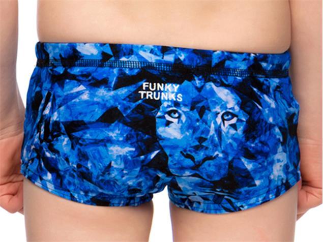Funky Trunks Predator Freeze Toddler Badehose Printed Trunks - 116 (5)