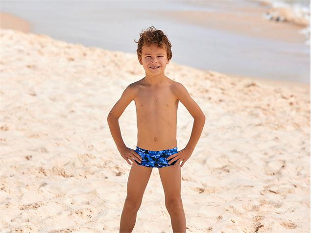 Funky Trunks Predator Freeze Toddler Badehose Printed Trunks - 128 (6)