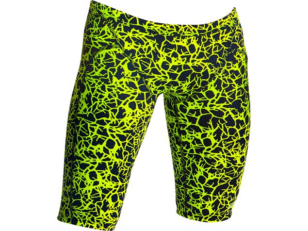 Funky Trunks Coral Gold  Boys Jammer - 140 (24)