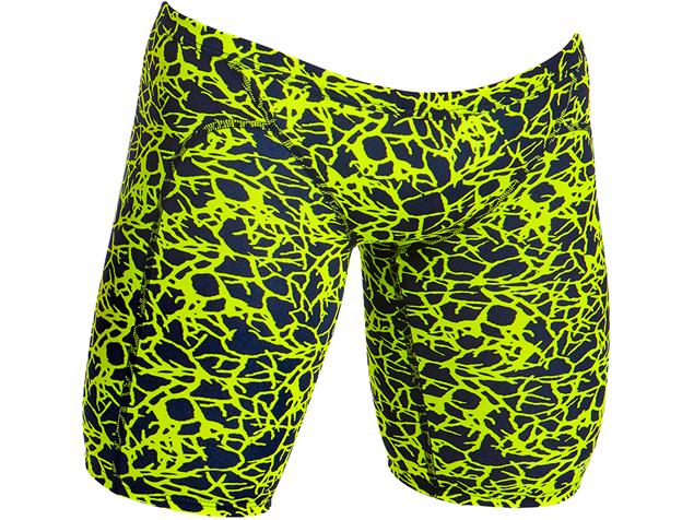 Funky Trunks Coral Gold Mens Jammer - 7 (38)
