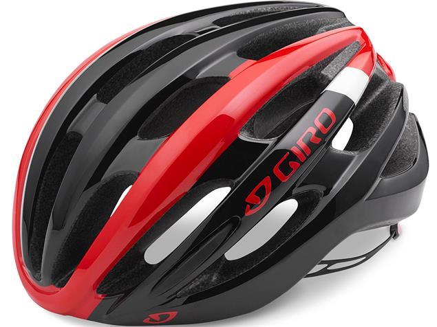 Giro Foray 2019 Helm - S bright red/white/black