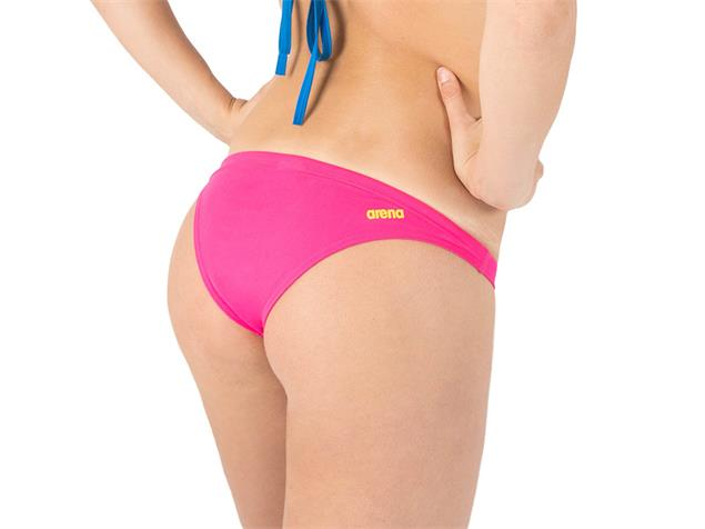 Arena Free Brief Schwimmbikini Hose Rule Breaker - M fresia rose/yellow star