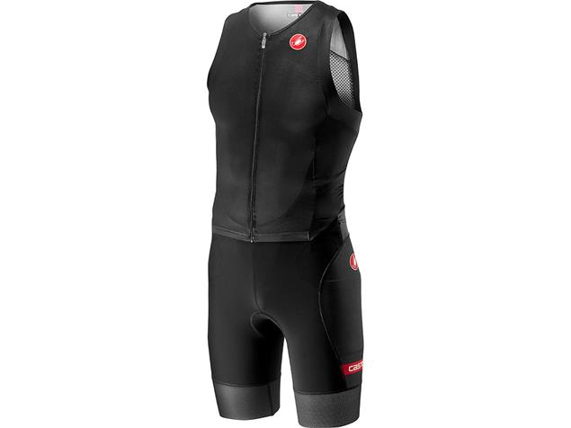 Castelli Free Sanremo Tri Suit Einteiler sleeveless - M black
