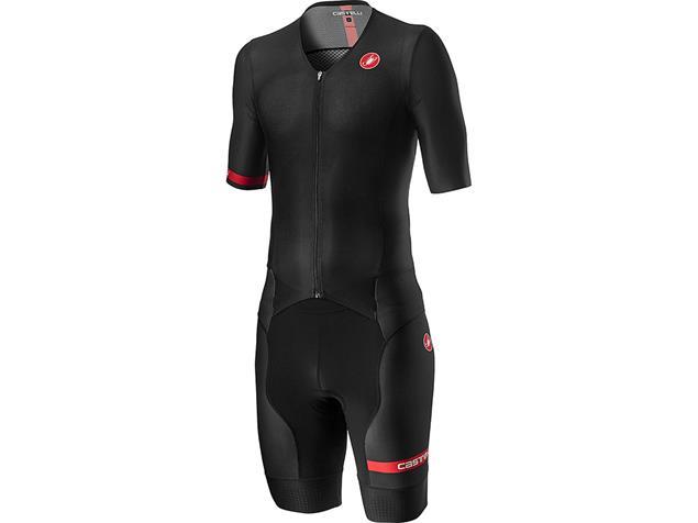 Castelli Free Sanremo Tri Suit Einteiler short sleeve SS - XXL black