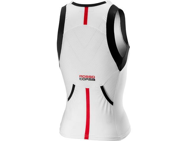 Castelli Free Tri Singlet Damen Oberteil - L white/black