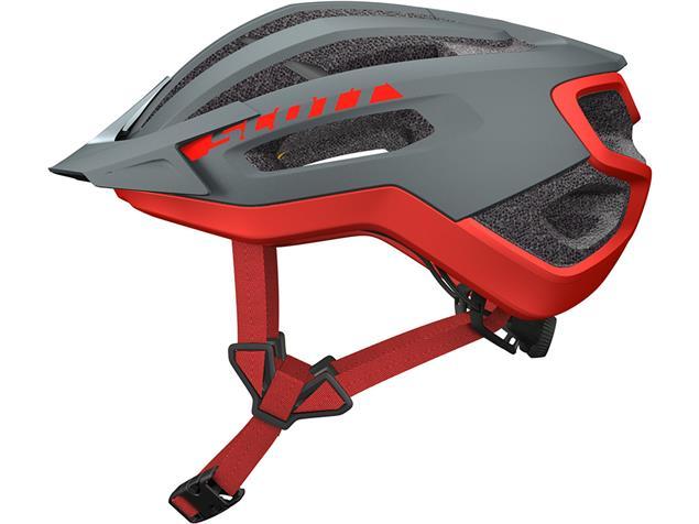 Scott Fuga Plus 2019 Helm - M grey/red