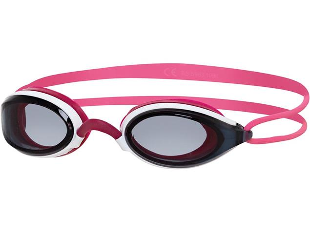 Zoggs Fusion Air Women Schwimmbrille white-pink/smoke