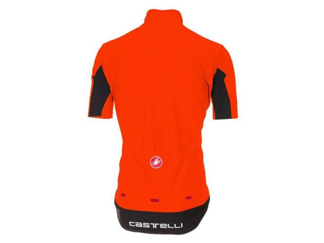 Castelli Gabba 3 Wind/Rain Jersey Trikot kurzarm - XXL orange