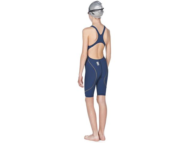 Arena Junior Girl Powerskin ST 2.0 Wettkampfanzug FBSL, Open Back - 116 navy