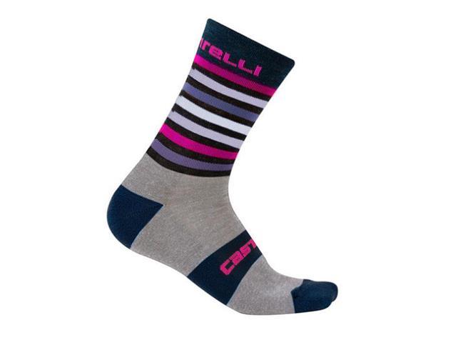 Castelli Gregge 15 Sock Wintersocken - XXL dark blue/gray