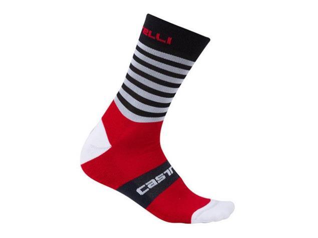 Castelli Gregge 15 Sock Wintersocken - XXL royal/red