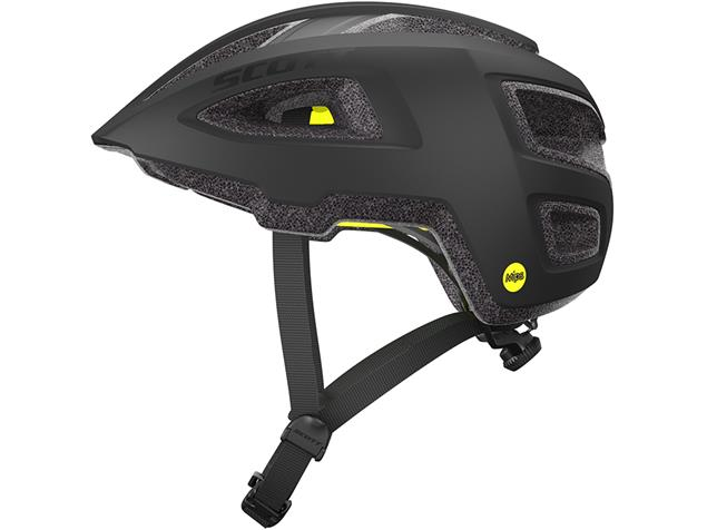 Scott Groove Plus 2018 Helm - S/M black matt
