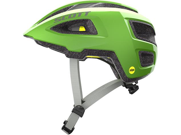 Scott Groove Plus 2019 Helm - M/L green