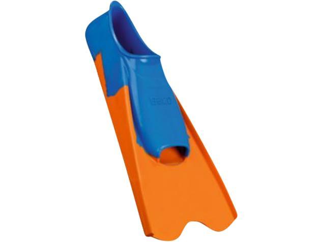 Beco Gummi-Kurzflossen Schwimmflossen blau/orange - 44-45