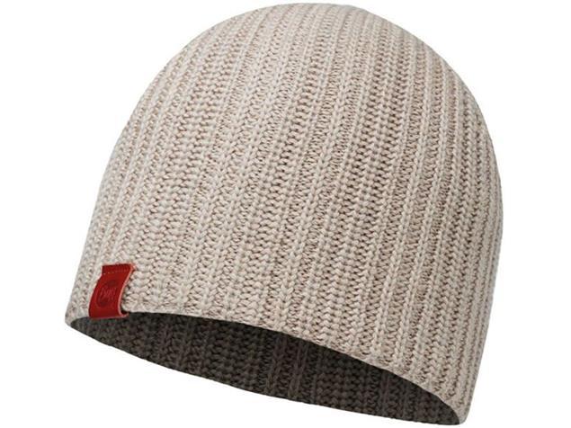 Buff Haan Knitted Mütze - cobblestone