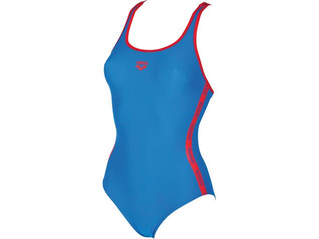 Arena Hyper Badeanzug Swim Pro Back - 42 pix blue/red