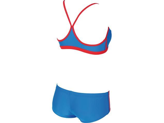 Arena Hyper Schwimmbikini - 34 pix blue/red