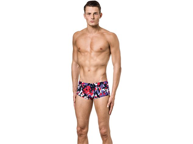 Aquafeel I-NOV Camou Splash Badehose Classic Trunk - 6