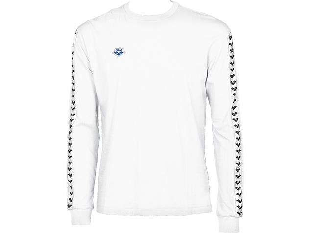 Arena Icons Herren Team Long Sleeve Shirt - XL white/white