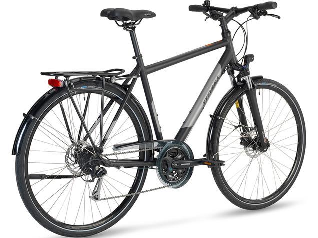 Stevens Jazz Gent Trekkingrad - 55 velvet black
