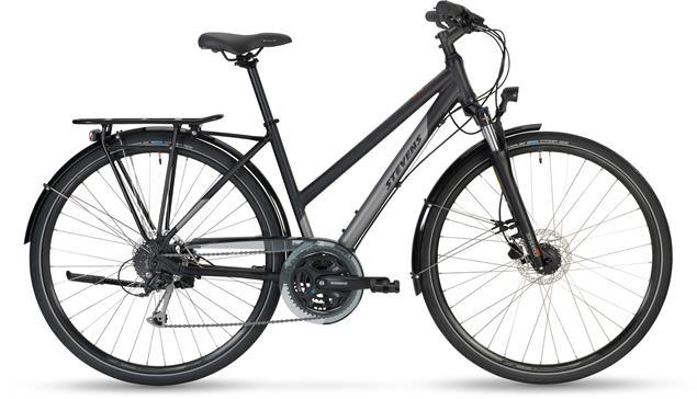 Stevens Jazz Lady Trekkingrad - 50 velvet black